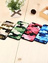 Camouflage Pattern TPU Hard Cover for iPhone 6s 6 Plus