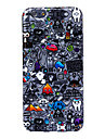 Crazy Rubbish Pattern Silicone Soft Case for iPhone 6/6S