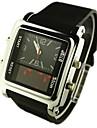 conduit affichage analogique-numérique multi-fonction montres de sport pour hommes