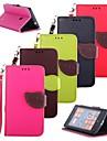 용 노키아 케이스 지갑 / 카드 홀더 / 스탠드 케이스 풀 바디 케이스 단색 하드 인조 가죽 Nokia
