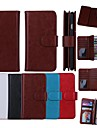 Wallet Pattern Genuine Leather with Card Slot for iPhone 6 Plus(Assorted Colors)