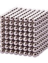 Magnetic Balls DIY Magnetic Cube Puzzle Educational Toys Cool Creative Gifts for Intelligence Development Stress Reducer Relief(5MM Set of 216 Balls)
