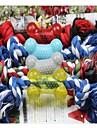 1PCS Pet Supplies Cotton Rope with Bone Dog Toy Chew Toys Random Color