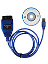 USB Cable KKL VAG-COM Car Auto Scanner Scan Tool for VW/Audi 409.1