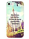 Castle Pattern Back Case for iPhone 6
