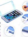 df couleur unie Wrap Up TPU transparente pleine boîtier de corps pour l'iphone 6 plus (couleurs assorties)