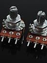 3 broches potentiomètre de réglage de volume de b20k pour guitare / basse (2 pcs)