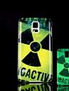 Radiation Pattern Glow in the Dark Hard Case for Samsung Galaxy S5 I9600