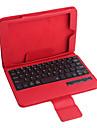 pu estojo de couro w / teclado Bluetooth para iPad Mini 3 mini-Mini iPad 2 ipad