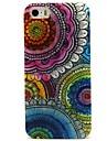 Для Кейс для iPhone 5 С узором Кейс для Задняя крышка Кейс для Цветы Мягкий TPU iPhone SE/5s/5
