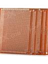универсальный DIY 7 х 9 см бакелит PCB плат - золотые (5шт)