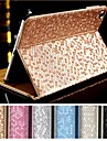 DF Luxury Supper Slip Diamante Auto Sleep/Wake Up PU Leather Full Body Case  for iPad 2/3/4 (Assorted Colors)