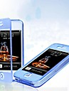 Для Кейс для iPhone 5 Флип / Прозрачный Кейс для Чехол Кейс для Один цвет Мягкий TPU iPhone SE/5s/5