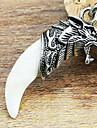 Evil Avoid Wolf Head Ivory Necklace