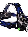 Освещение Налобные фонари LED 2000 Люмен 3 Режим Cree XM-L T6 18650 Фокусировка / Водонепроницаемый / Угловой фонарь Многофункциональный