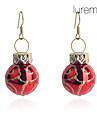 Earring Drop Earrings Jewelry Women Party / Daily Copper Gold / Red