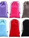 saco de veludo de algodão de proteção para 6s iphone plus / 6 mais (cores sortidas)