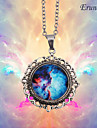 Eruner®Nebula Galaxy Cabochon Charm Necklace
