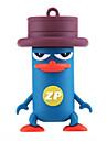 ZP Cartoon Platypus Character 32GB  USB Flash Drive