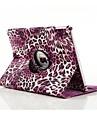 Высокое качество PU кожа леопарда печати спин случае все тело для Ipad воздуха 2 (разных цветов)