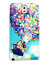 Balloon Up Pattern Thin Hard Case Cover for Samsung Galaxy Note 3
