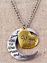 Ожерелья с подвесками Сплав Для вечеринок / Повседневные Бижутерия