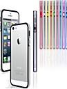 pc + TPU Housse de pare-chocs de trame pour iphone 5 / 5s (couleurs assorties)