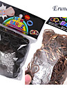 baoguang®600pcs 무지개 색 베틀 패션 고무 밴드 (24PCS 후크, 모듬 색상)를 직기