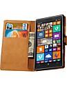 подлинный кожаный бумажник стиль для Nokia Lumia 930 (разных цветов)