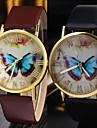relógio borboleta cinto vintage cinto rodada movimento china das mulheres (cores sortidas)
