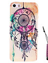Staining Dreamcatcher  Pattern Hard Case & Touch Pen for iPhone 5/5S