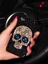 아이폰 6에 대한 다이아몬드 프레임 아가씨 두개골 스타일 플러스