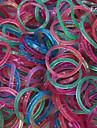 eruner® (600 pcs / pack) tear bandas elástico estilo com 12pcs s gancho e 1pcs crochê