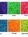 baoguang®600pcs цвета радуги ткацкий станок флуоресцентный моды ткацкий станок резинку (клип 1package S, разных цветов)