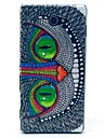 Beautiful Green Eye Pattern Clearly PC Hard Case for Sony Xperia M2 S50h