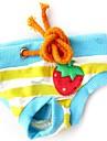 Собаки Брюки Красный / Синий / Розовый Одежда для собак Весна/осень Фрукты Косплей