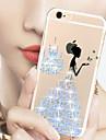 Pour Coque iPhone 6 / Coques iPhone 6 Plus Strass / Motif Coque Coque Arrière Coque Femme Sexy Dur PolycarbonateiPhone 6s Plus/6 Plus /