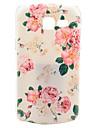 Rose Flower Design Pattern Hard Case Cover for Samsung Galaxy Trend Lite S7390/S7392