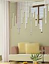 Forme Stickers muraux Miroirs Muraux Autocollants Autocollants muraux décoratifs,Vinyle Matériel Repositionable Décoration d'intérieur