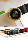 Métal Lentille Fish-Eye Lentille Grand Angle 1X 25 180 Lentille avec CoqueUniversel iPhone 4/4S iPhone 3G/3GS iPad iPad 2 iPad 3 iPod
