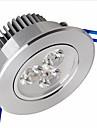 6W Потолочный светильник / Осветительная панель Утапливаемое крепление 3 SMD 2835 500-550 lm Тёплый белый Регулируемая AC 220-240 V