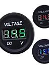 Automobile Motorcycle DC 12V to 24V LED Digital Voltmeter
