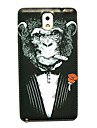 Chimpanzee Pattern Thin Hard Case Cover for Samsung Galaxy Note 3