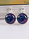 Eruner®Nebula Galaxy Cabochon Earrings, Charm Earrings, Galactic Cosmic Moon Earrin