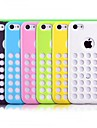 TPU Soft Dot Cover Case for iPhone 5C (Assorted Colors)