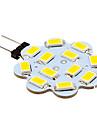 3W G4 Двухштырьковые LED лампы 12 SMD 5630 270 lm Тёплый белый / Холодный белый DC 12 V 10 шт.