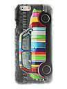 coloré étui rigide de conception de la voiture pour l'iphone 6