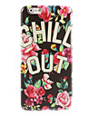 CHILL OUT Design Hard Case for iPhone 6