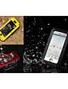 klw métal et silicone étanche à la poussière cas quakeproof pour iPhone 5 / 5s (couleurs assorties)