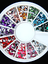 600pcs colorées en forme de papillon gemmes acryliques à dos plat fait à la main matériel de bricolage